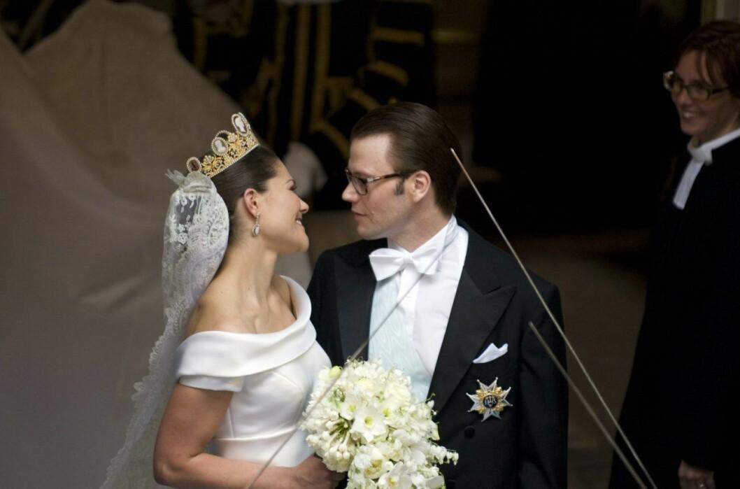 Kronprinsessan Victoria och prins Daniel bröllop