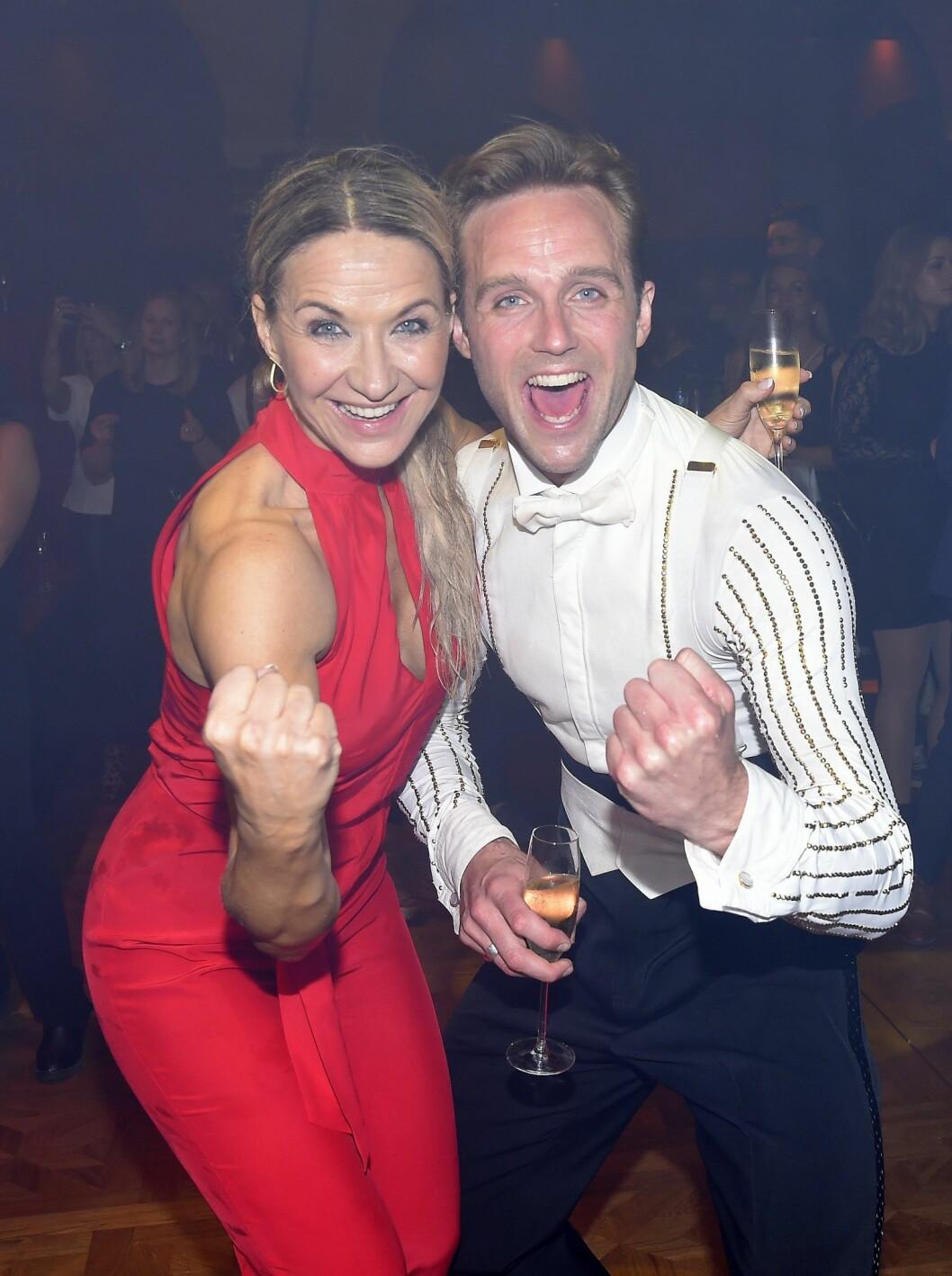 Förra året tog Kristin Kaspersen och Calle Sterner hem vinsten i Let´s dance i TV4.
