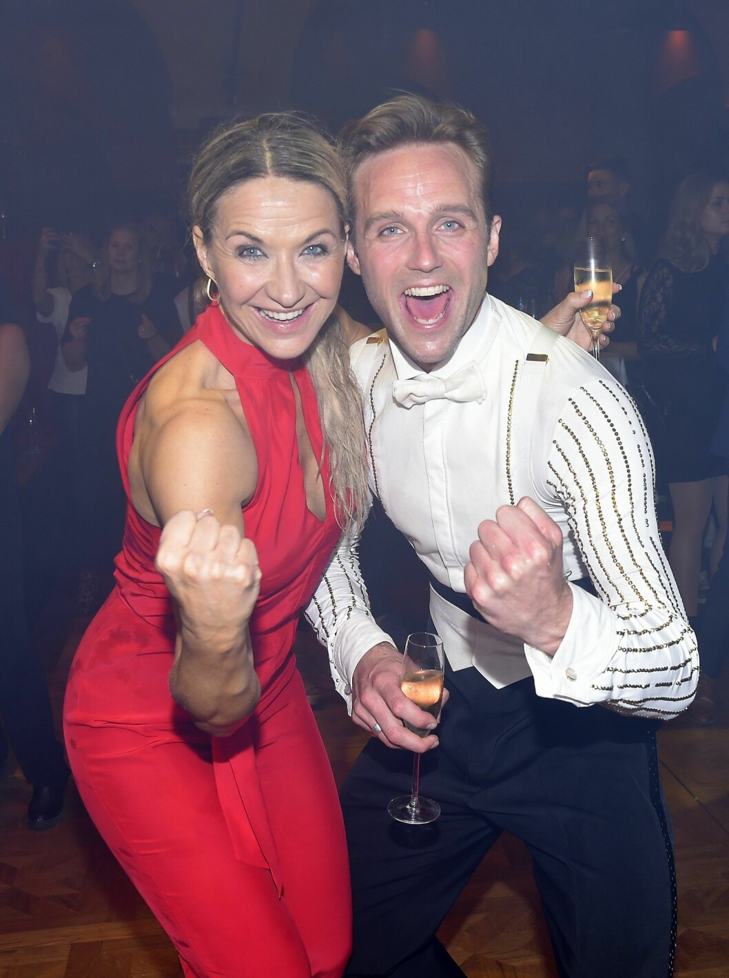 Kristin Kaspersen och dansaren Calle Sterner vann Let's Dance förra året.