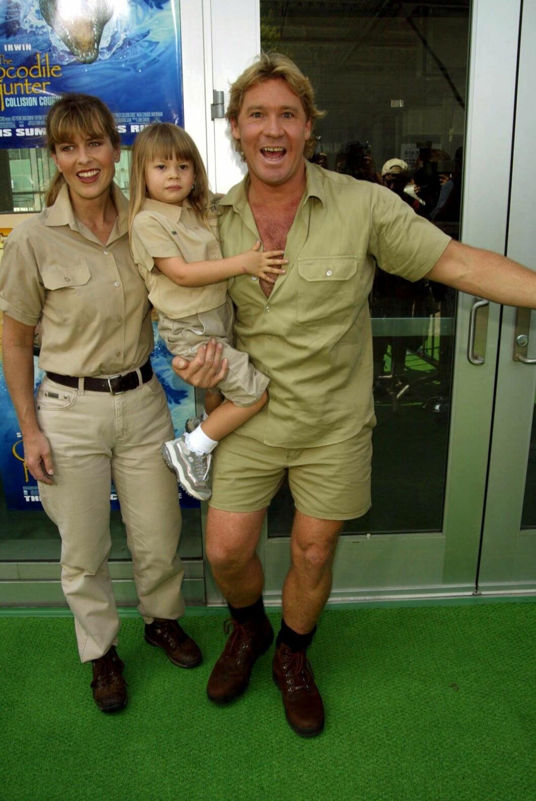 Steve Irwin med dottern Bindi