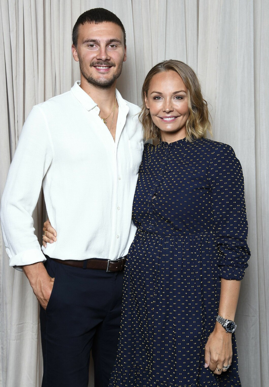 Erik och Carina Berg ska ha barn 2018/2019