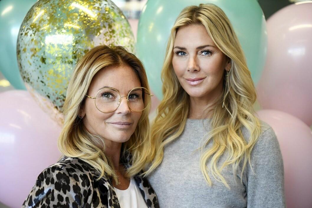 Magdalena Graaf och systern Hannah i egna programmet Systrarna Graaf.