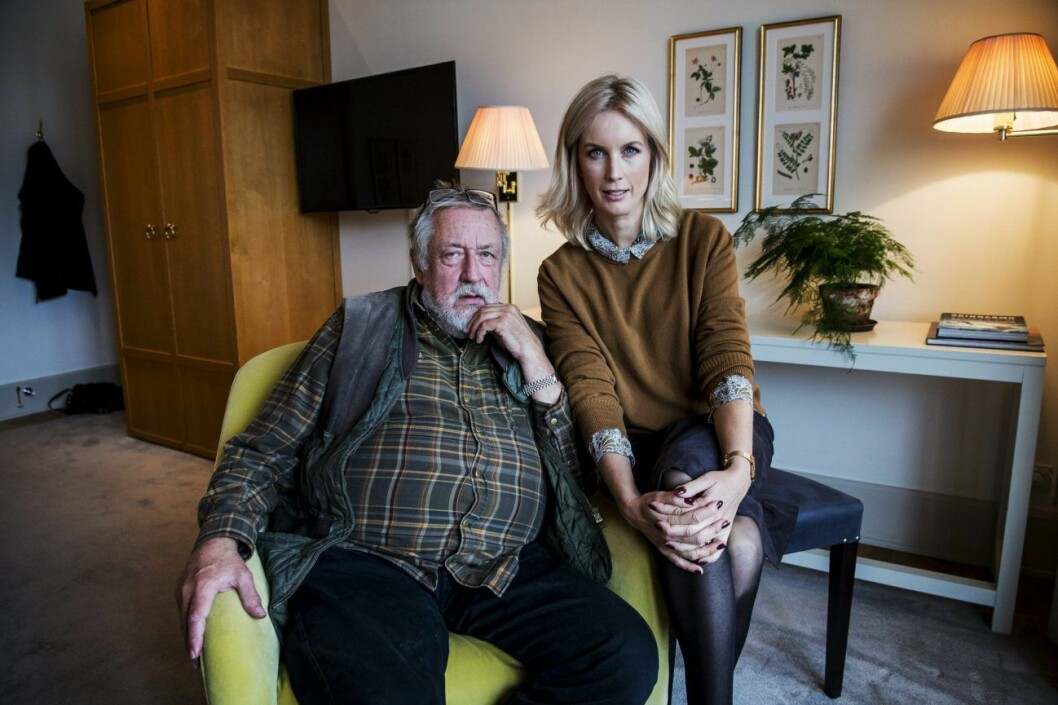 Leif GW Persson och Jenny Strömstedt pratar brott i Brottsjournalen.