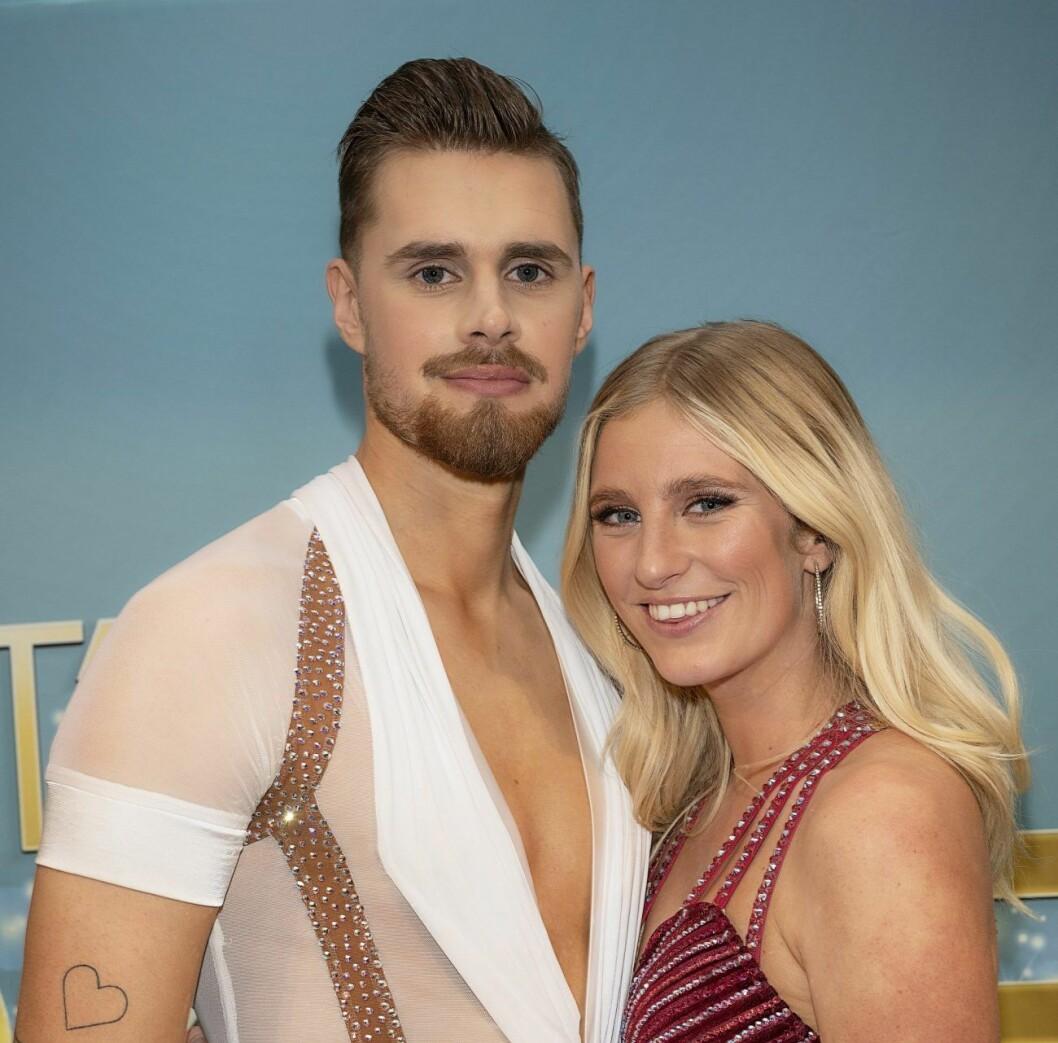 Dansaren Jacob Persson och Penny Parnevik.