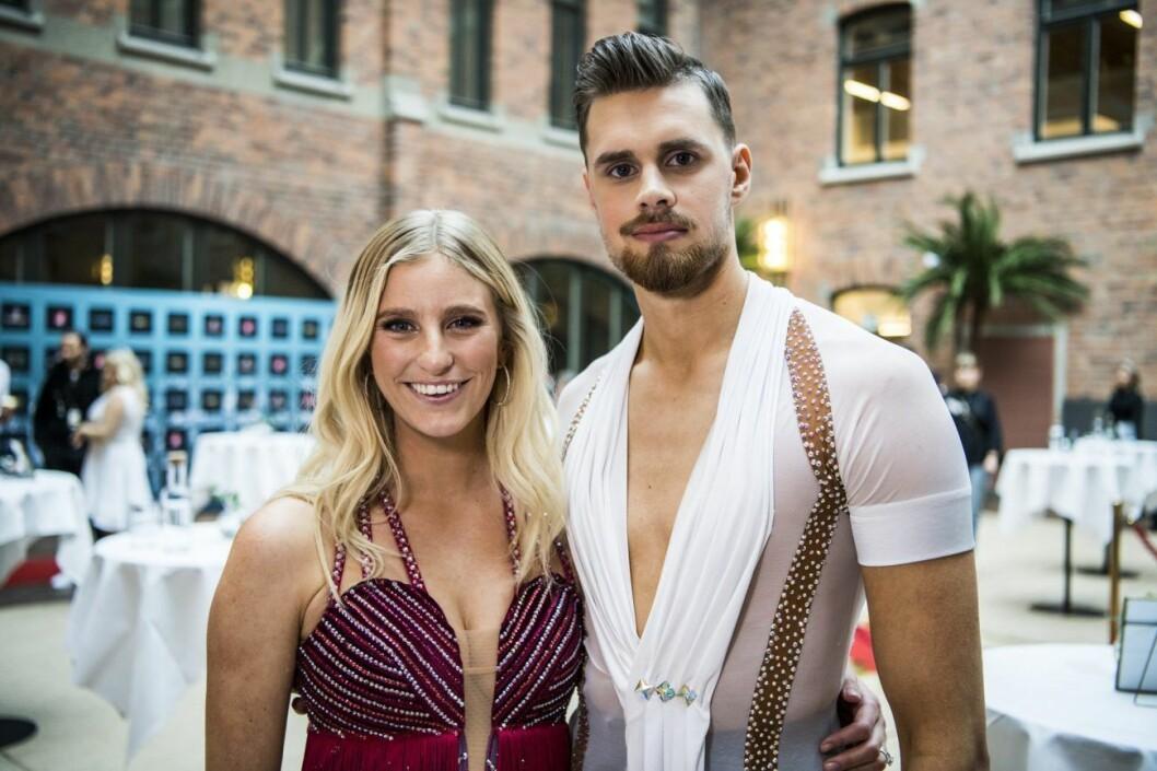 Penny Parnevik och Jacob Persson Let's dance 2020