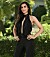 Shilera Sulhav i svartklänning i Bachelor 2021