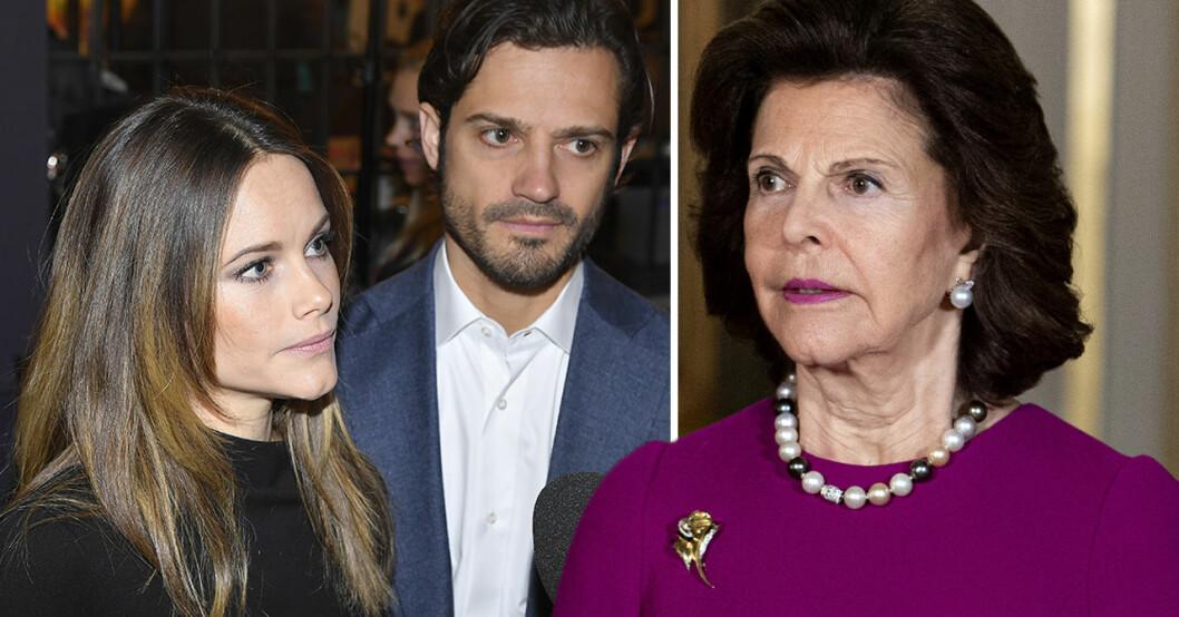 Prinsessan Sofia, Prins Carl Philip, Drottning Silvia