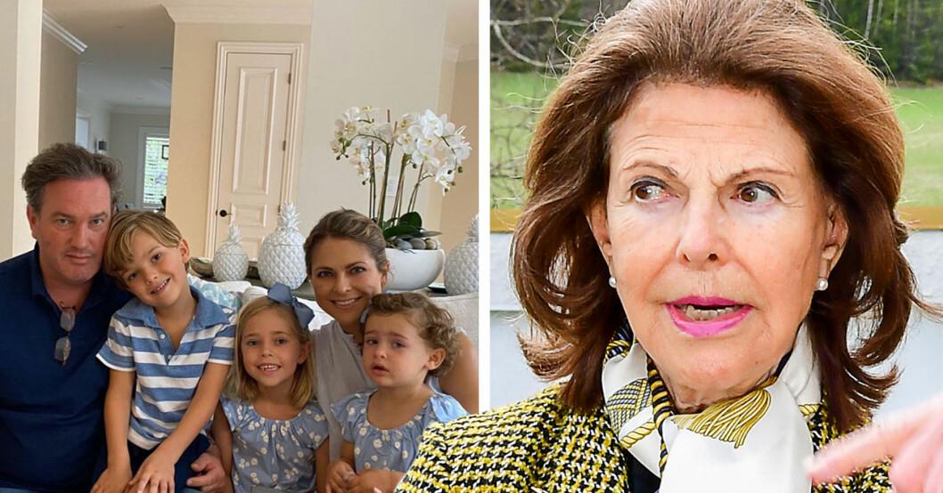 Drottning Silvia om hemliga samtalen med Madeleine – erkänner förändrade relationen med barnbarnen