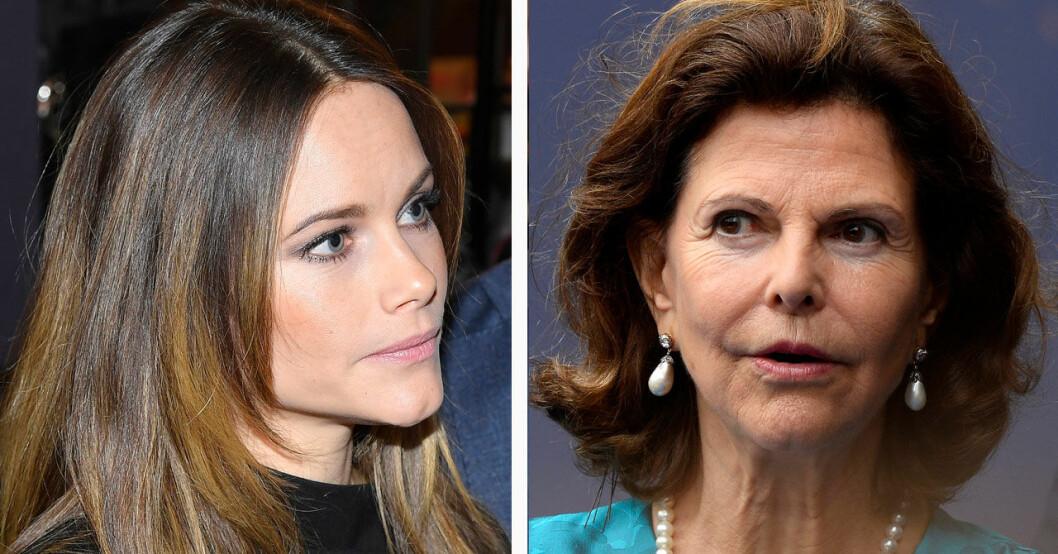 Prinsessan Sofia och drottning Silvia