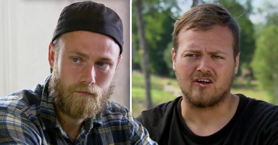 Simon Axelsson och Jens i Farmen