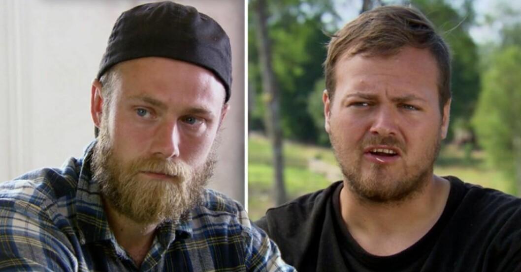 Farmen-Simon Axelssons markering mot Jens Rönnqvist