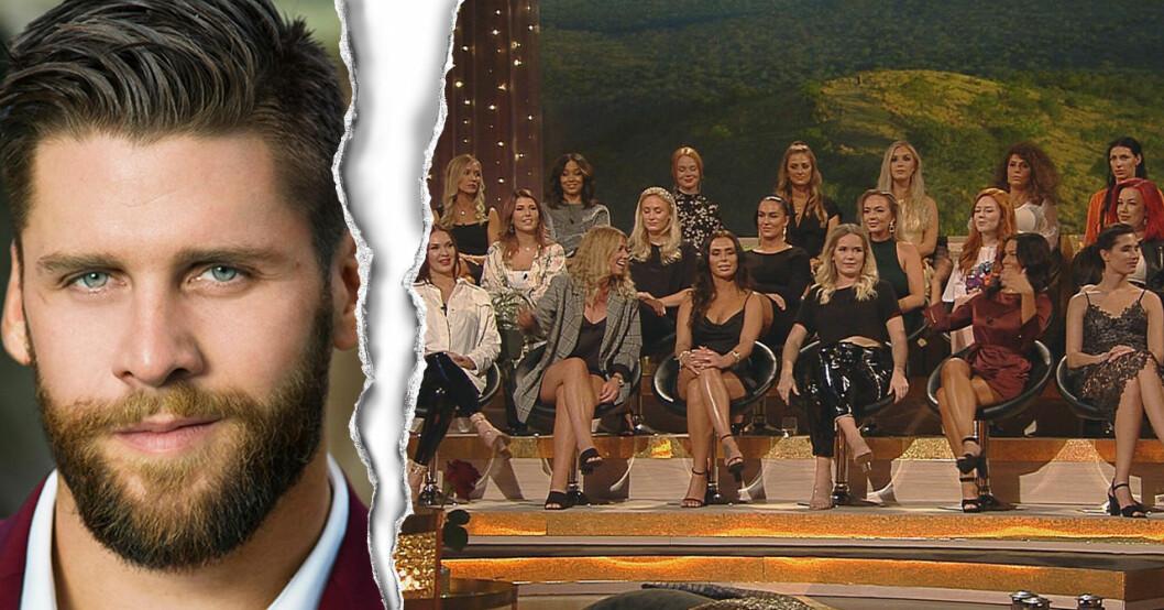 Simon Bachelor och tjejerna i Bachelor 2019.