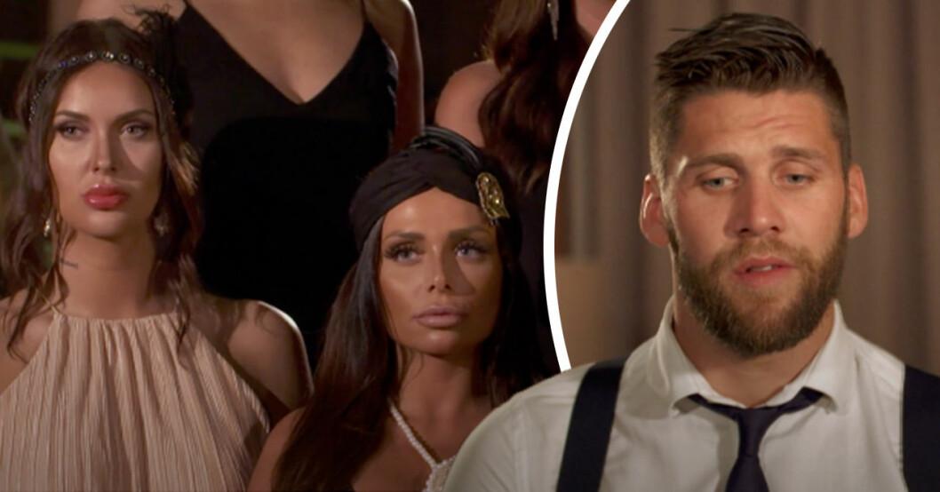 """Rosecermonin stoppad i Bachelor – TV4 om situationen: """"Totalkaos"""""""
