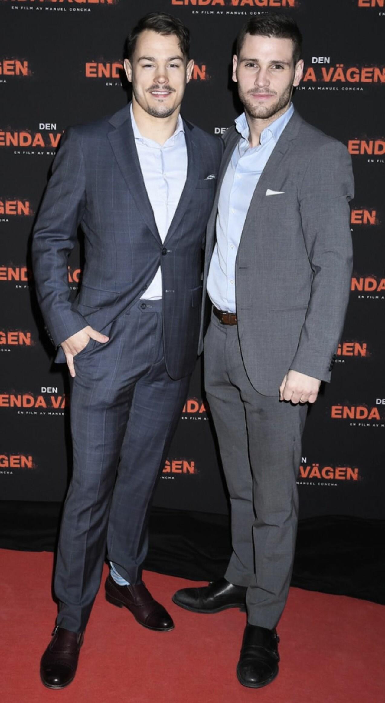 Simon Sköld och Seán Canning