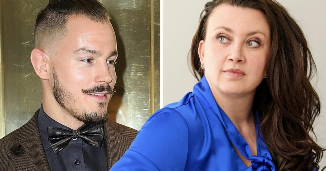 Simon Skölds oväntade insikt efter Camilla Läckbergs nya bild