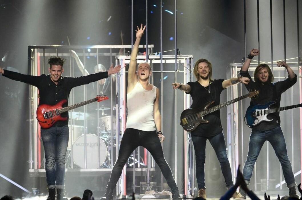 Outtriggers i Melodifestivalen 2014