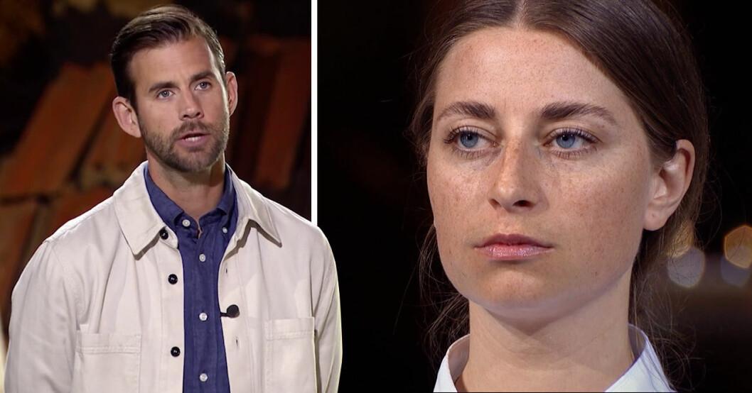 Pär Lernström berättade att Siri Barje tvingats åka hem.