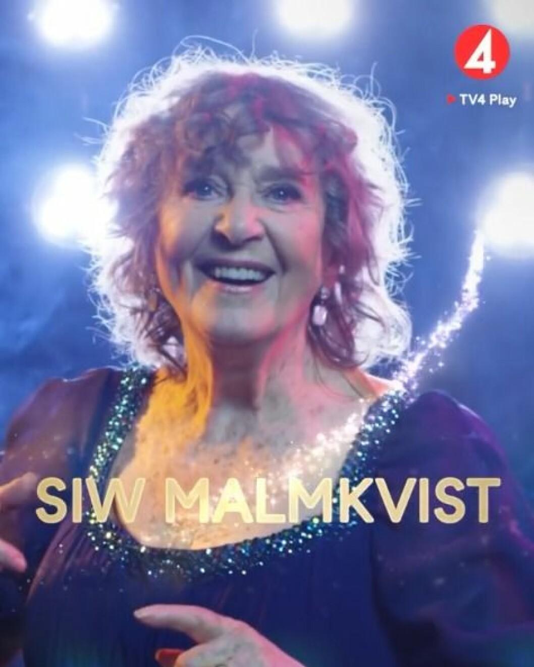 Siw Malmkvist är med I Let's dance 2020
