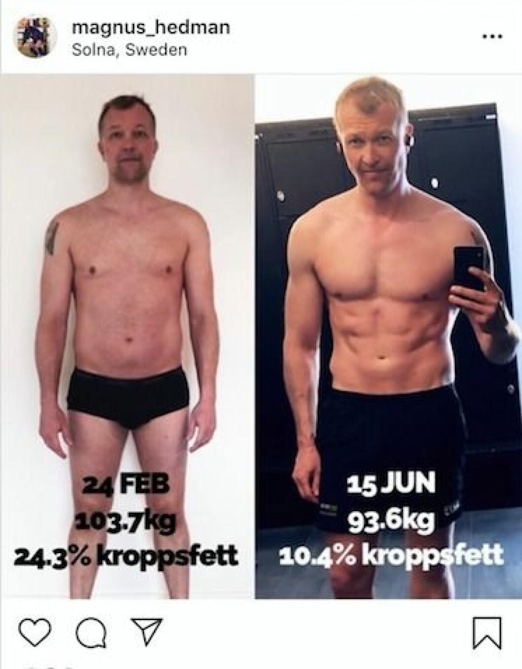 Magnus Hedmans nya superkropp