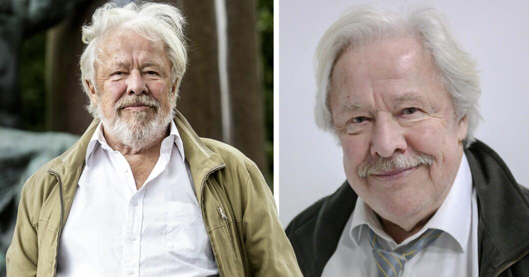 Skådespelaren och författaren Sven Wollter