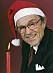 Arne så som vi är vana att se honom på julafton. Foto: Aftonbladet