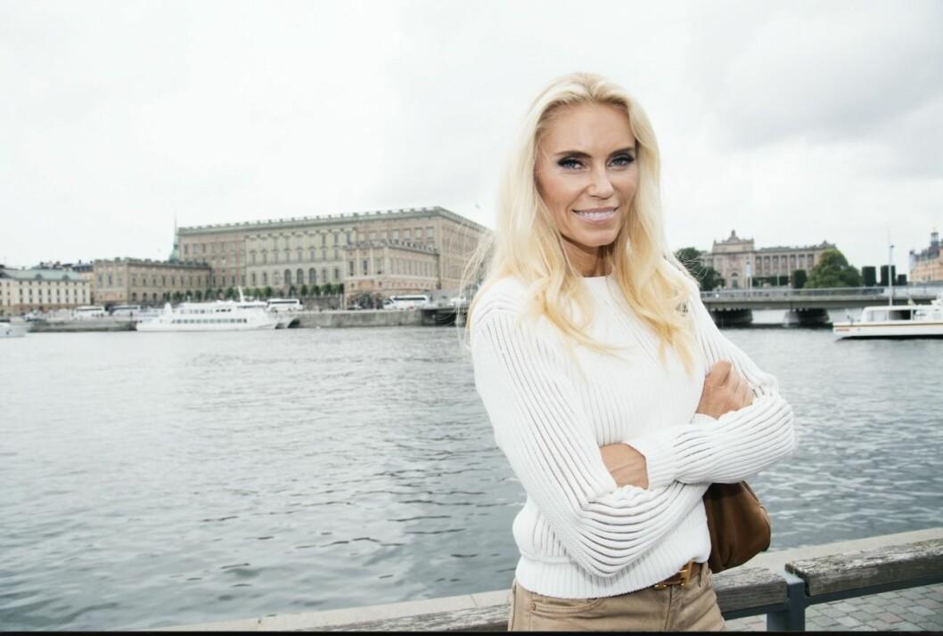 Anna Anka väckte stor uppmärksamhet under sin medverkan i Svenska Hollywoodfruar.