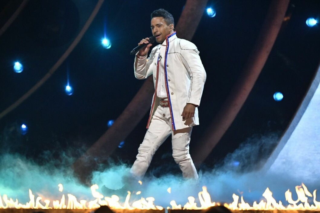 I Melodifestivalen förra året tävlade Jon Henrik Fjällgren med låten Norrsken.