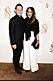 Rickard Olsson på röda mattan med nya kärleken Giselle