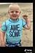@shans1588 visar upp sonen från Tiktok, som hunnit fylla fem år.