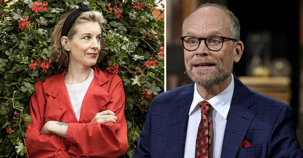 Linda Skugge och Kristian Luuk