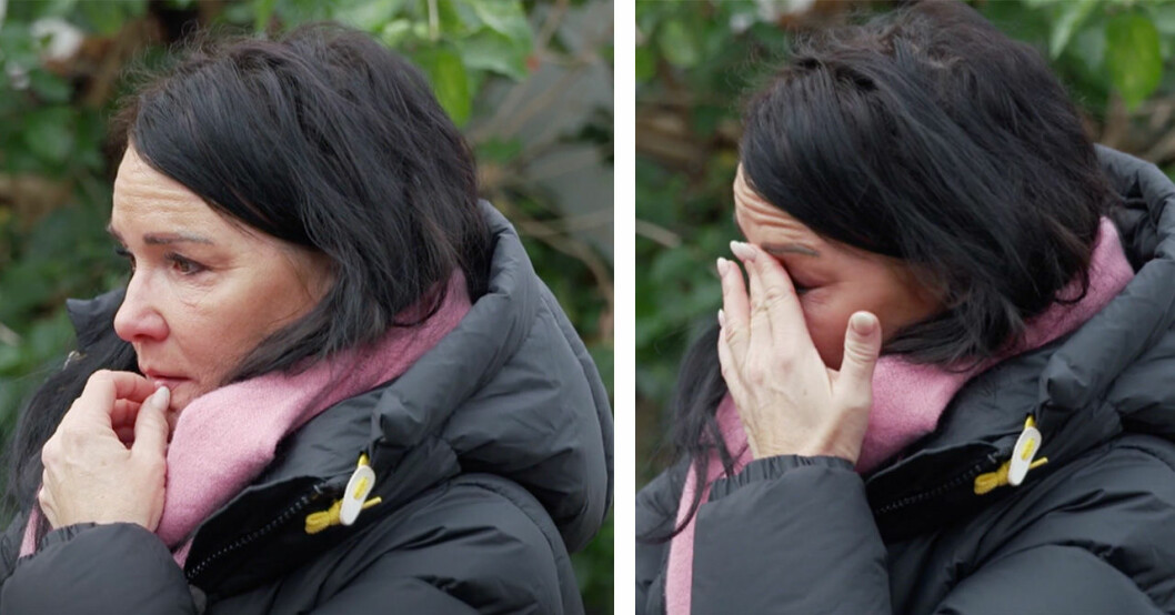 Sofia Wistams tårar i den stora hälsoresan