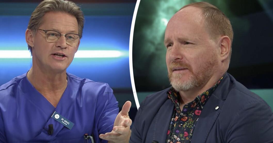 """Morgan Allings chock efter Mikael """"Soldoktorn"""" Sandströms känga i TV4"""