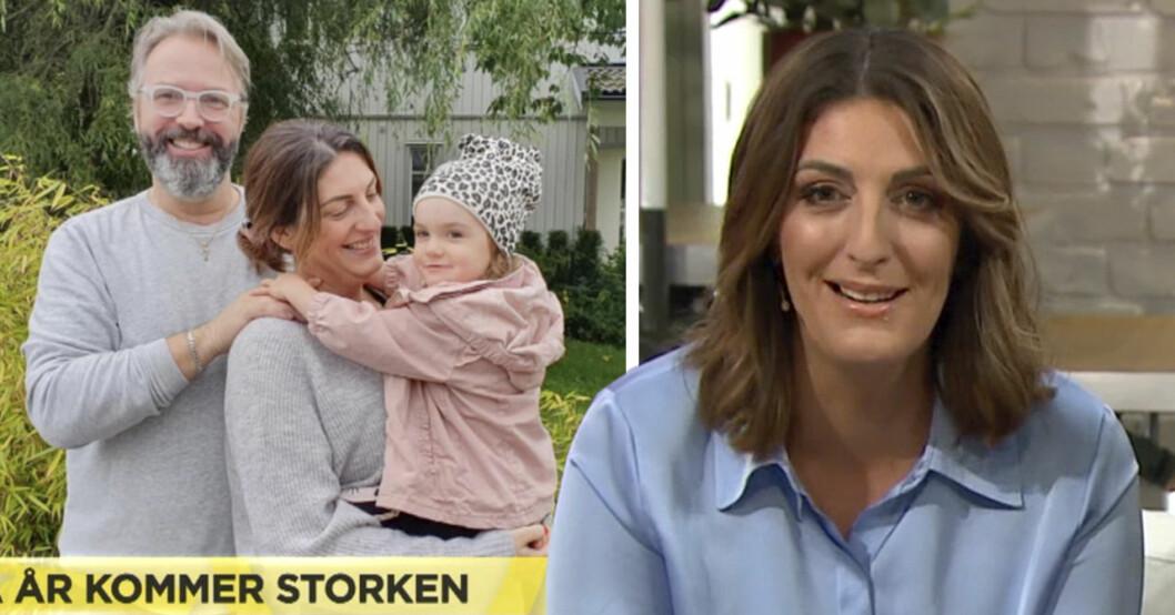 Soraya Lavasanis nya avslöjande om graviditeten.