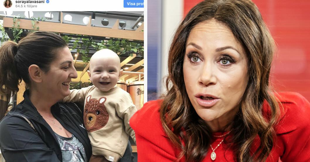 Soraya Lavasani och Tilde de Paula Eby är kollegor i TV4.