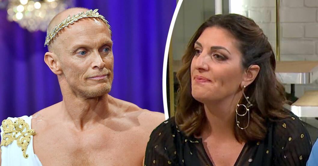 Soraya Lavasanis tårar i TV4 – efter Tobias Karlssons ord om hiv-beskedet