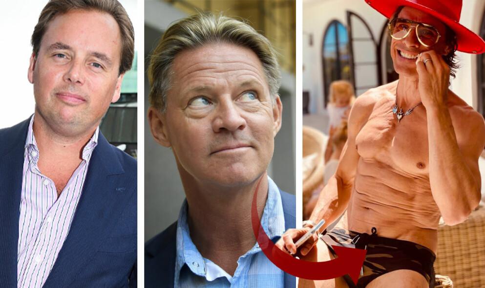 """Fredrik af Klercker, Mikael """"Soldoktorn"""" Sandström och Peter Siepen."""