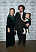 6419199 2016-10-20 Jubileumsfest Hotel Kung Carl 150 år Pictured: Gunilla Kinn Blom och Edward Blom med Melchior Copyright Sigge Klemetz / Stella Pictures