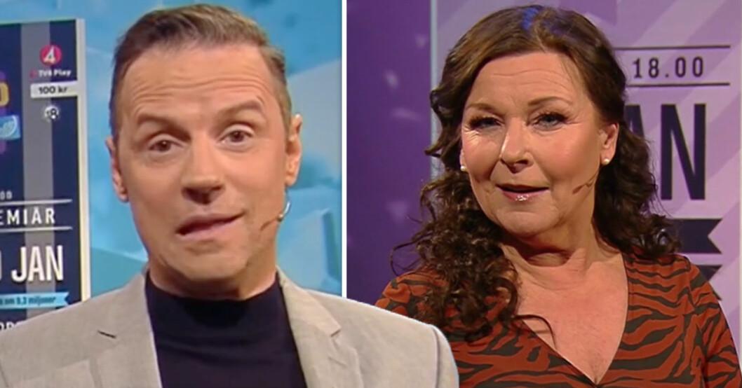 Stefan Odelberg och Lotta Engberg