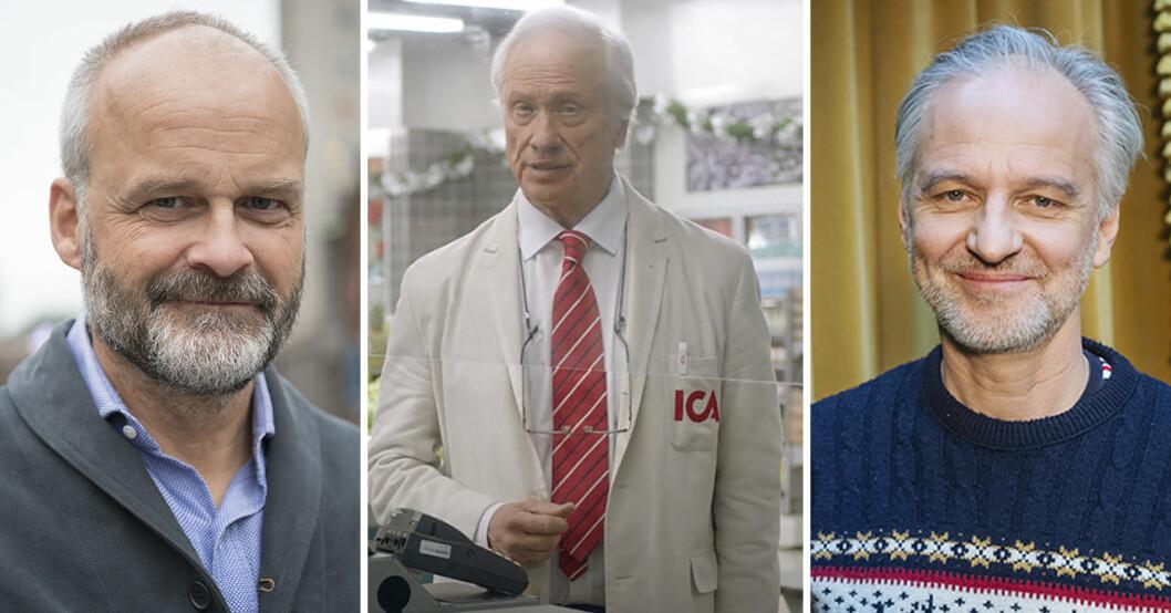 Johan Rheborg, Loa Falkman och Björn Kjellman