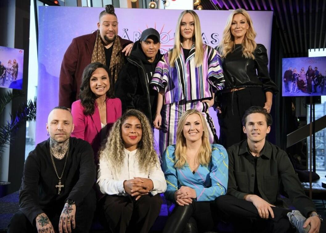 Alla artister i Stjärnornas stjärna 2020