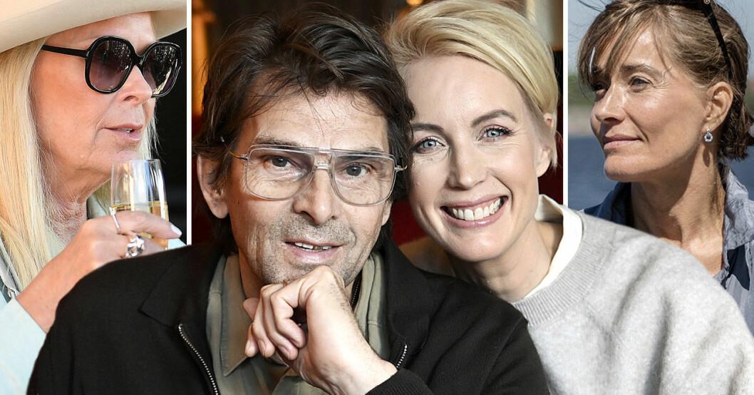 Niklas Strömstedt, Jenny Strömstedt, Efva Attling, Agneta Sjödin.