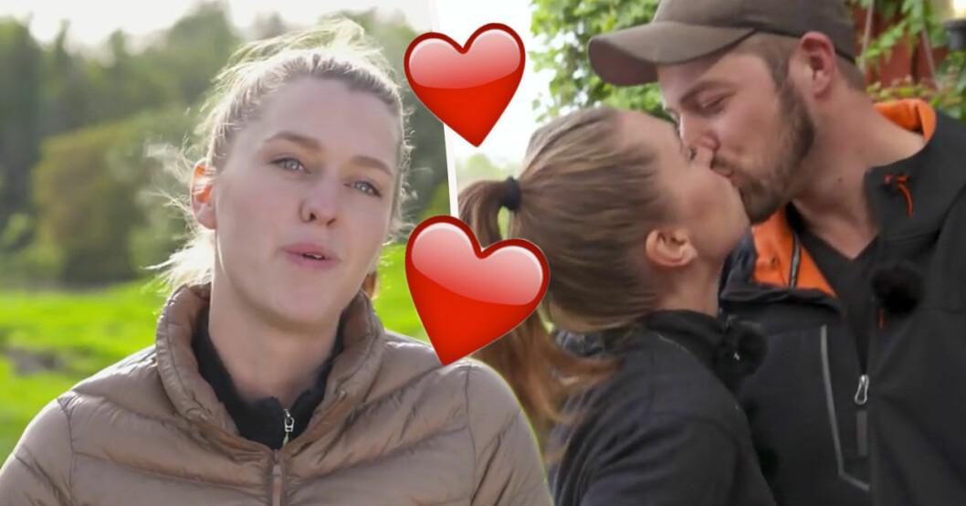 Bonde söker fru-Susanna Karlsson och Hannes avslöjar när de ska förlova sig.