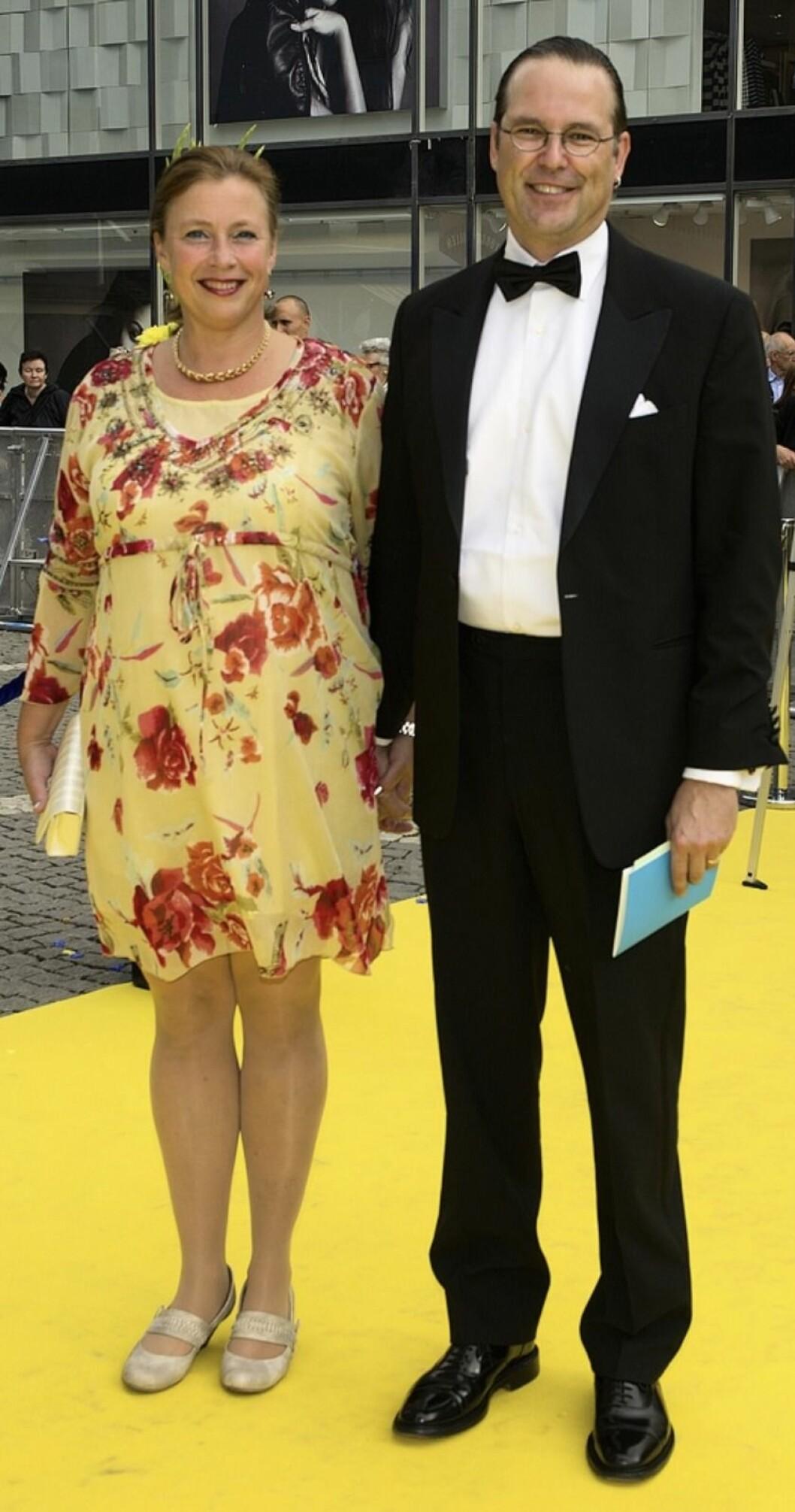 Susanna och Anders Borg på röda mattan
