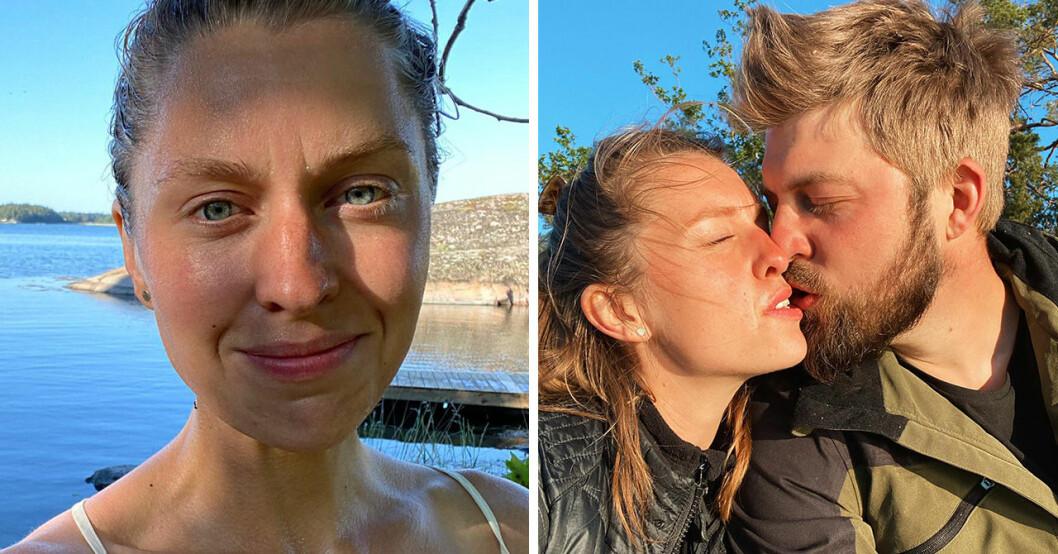 Susanna Karlsson och Hannes Haraldsson från Bonde söker fru