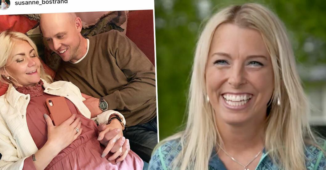 Susanne Bostrand i Bonde söker fru