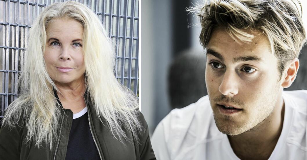 Susie Päivärinta och Benjamin Ingrosso