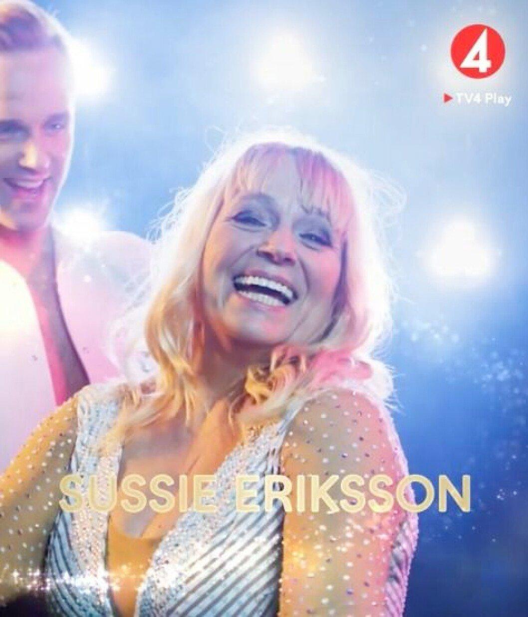 Sussie Eriksson I Let's dance