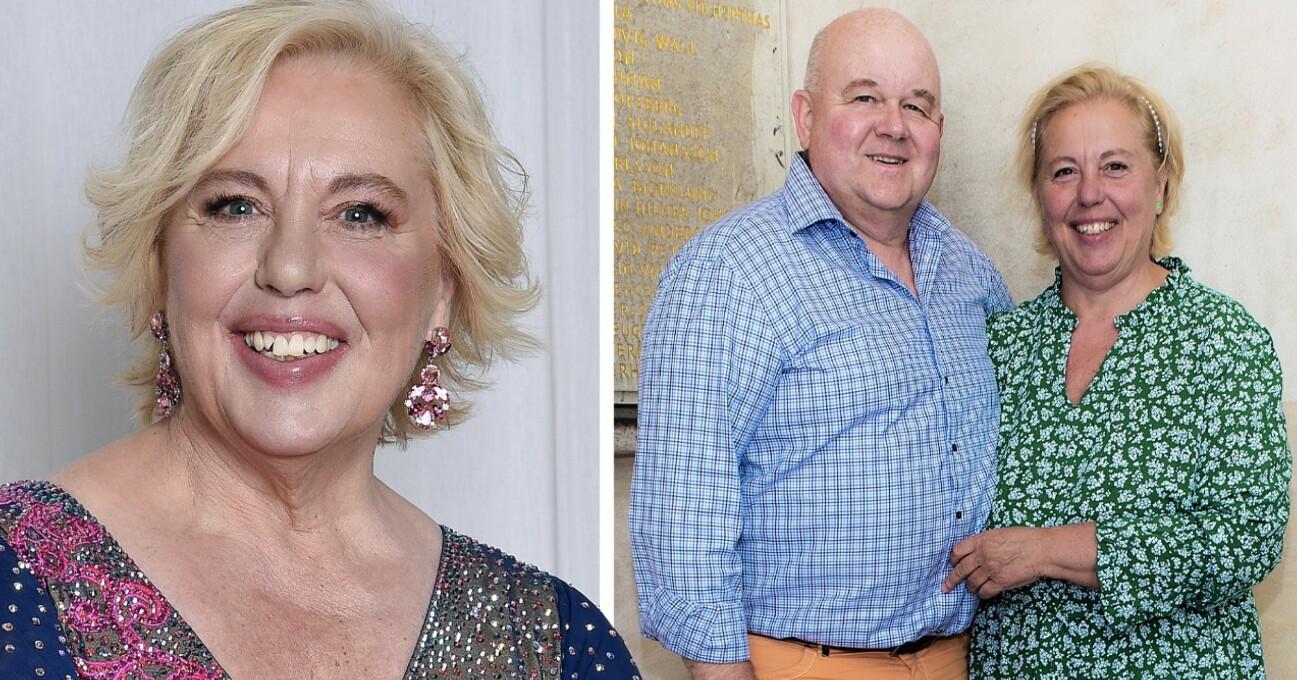 Suzanne Axell med maken Jörgen