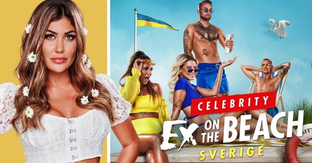 Svårigheter med att spela in Ex on the beach i Sverige