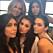 Kim Kardashian, Khloé Kardashian, Kylie Jenner, Kourtney Kardashian och Kendall Jenner poserar för kameran. Foto: Privat
